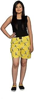 Flamboyant Women's Multicolor Cotton Shorts