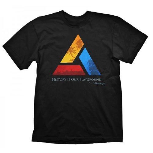 Assassins Creed - shirt de sport Col ras du cou - Manches courtes Homme - Noir - Noir - FR : Medium (Brand size : Medium)
