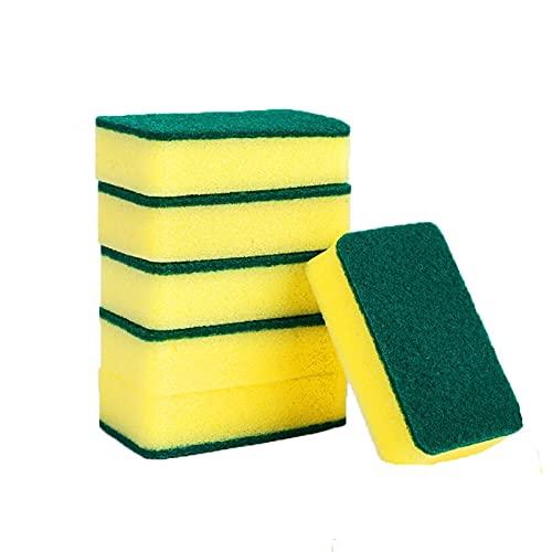 2 IN1 Limpieza De La Toalla De La Toalla, Esponja De Impulsión De Impuestos, Esponja Mágica De Esponja De Cocina Limpiador De Esponja De Cocina para Baño De Oficina (Color : 16pcs)