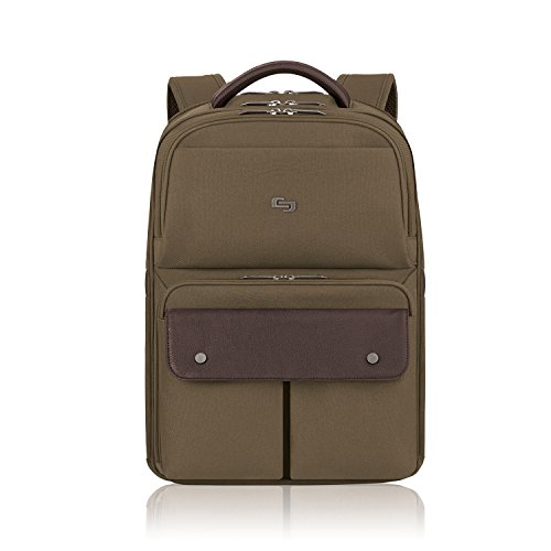 Solo Apollo 15.6 Inch Laptop Backpack, Khaki