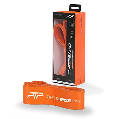 PTP Unisex– Erwachsene Ultimate Superband Fitnessband, orange, One Size