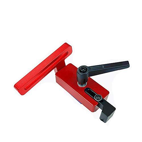 XUQIANG Parada de la Pista de inglete de aleación de Aluminio 45 de 45 Tipo para una Herramienta de carpintería de 45 mm T-Track Herramientas manuales de carpintería de Bricolaje