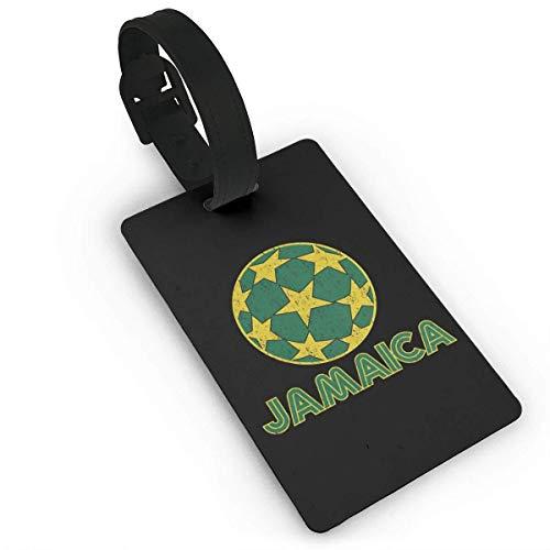 Jamaika Star Soccer Ball Lage Tag Kreuzfahrt Reise ID Tags PVC Für Taschen Koffer