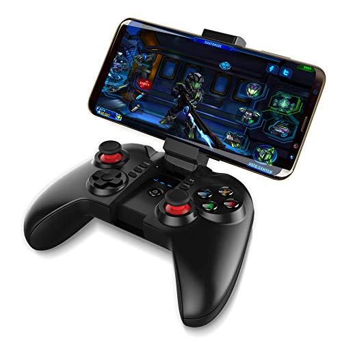 Redlemon Control de Celular Bluetooth para Videojuegos con Soporte Ajustable para Smartphone. Compatible…