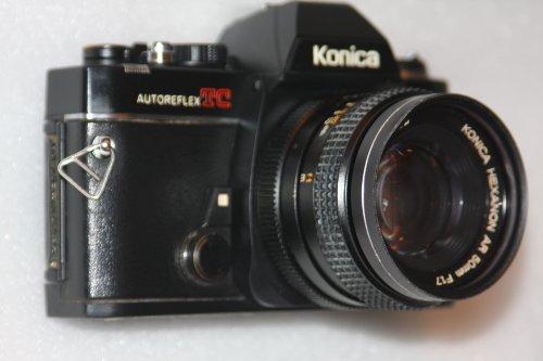 Konica autoreflex TC cámara de Cine