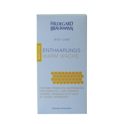 Hildegard Braukmann Body Care Entharungs Warm Wachs, 60 ml