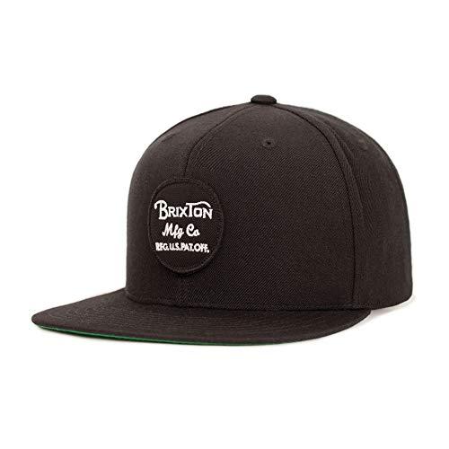 Brixton Men's Wheeler Snapback Black