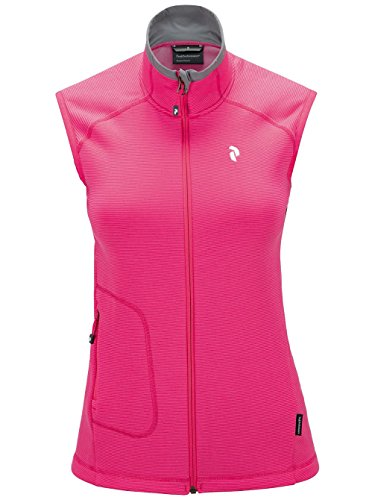 Snowboard Veste Peak Performance Waitara sans manches pour femme XS magenta pink
