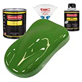 Restoration Shop - Deere Green Acrylic Enamel Auto Paint - Complete Quart Paint Kit - Professional Single Stage High Gloss Automotive, Car, Truck, Equipment Coating, 8:1 Mix Ratio, 2.8 VOC