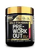 Optimum Nutrition ON Gold Standard Pre Workout en Polvo con Creatina Monohidrato, Beta Alanina, Cafeína, Citrulina y Vitamina B, Piña, 30 Porciones, 330 gr
