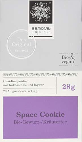 samova Space Cookie Express, 4er Pack (4 x 28 g)