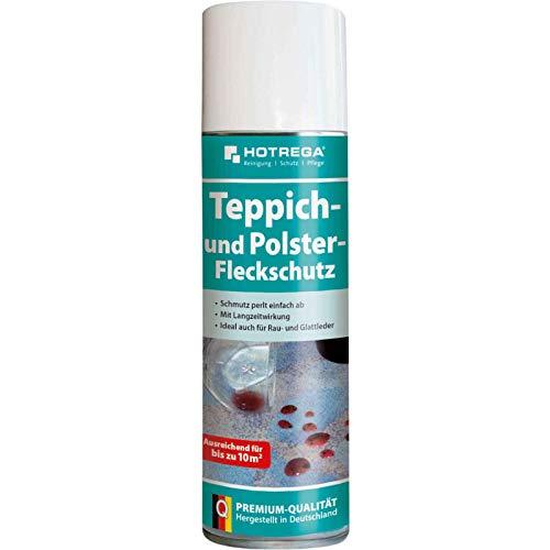 HOTREGA Teppich und Polster Fleckschutz 300 ml Imprägnierung, Abperleffekt