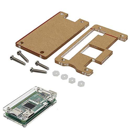 LHQ-HQ DIY-Kit Modul Transparent Acrylic Case gepasst for Raspberry Pi Null W USB-A Addon BadUSB Brett Display-Zubehör