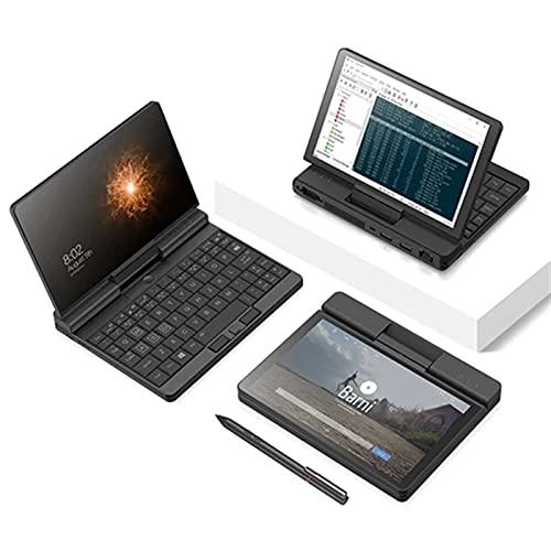 Una Netbook A1 360 Grados 2 en 1 Bolsillo portátil 8GB RAM 256GB Intel M3-8100Y + Original Stylus Pen + Funda Protectora (Size : with Pen)
