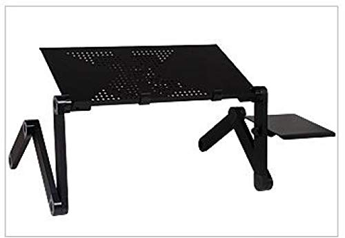 Portable Adjustable Aluminum Laptop Desk Ergonomic TV Bed Laptop Tray PC Table Stand Notebook Table Desk Stand
