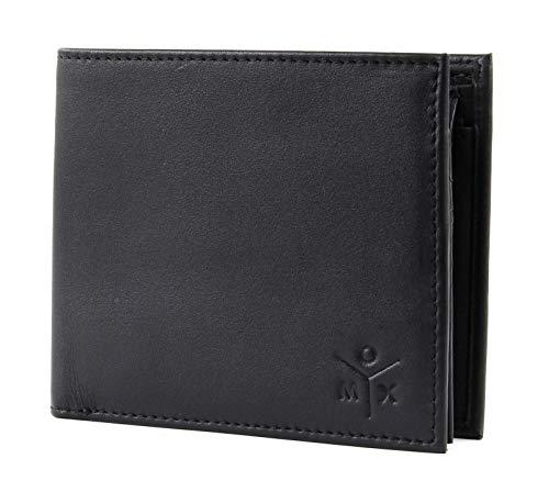 oxmox Leather Geldbörse Leder 12 cm