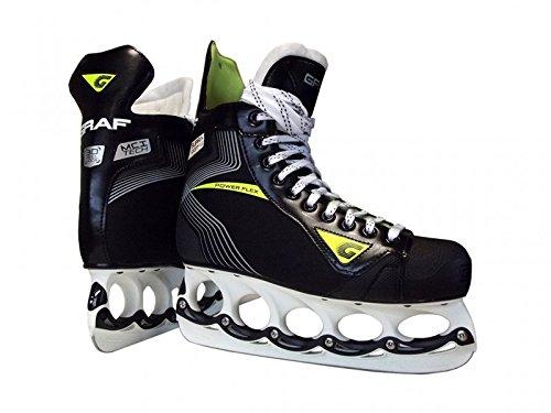 GRAF Supra 103 V2 Skate mit T - Blade System, Weite :R = Regular, Größe:5.5 = 38 2/3