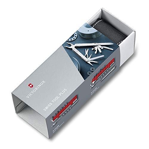 Victorinox SwissTool CS Plus Outil multifonctions Étui cuir Acier inoxydable Argenté 39 fonctions