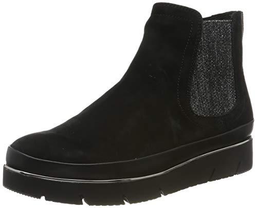 Tamaris Damen 1-1-25406-23 Chelsea Boots, Schwarz (Black Nubuc 8), 38 EU