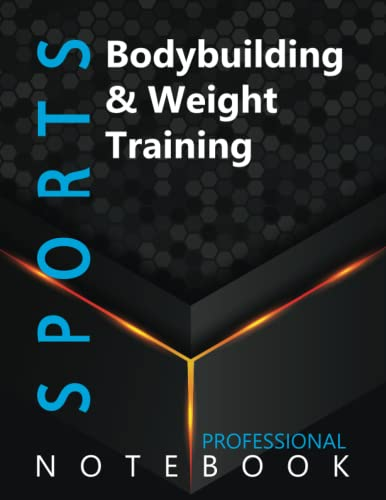 """Compare Textbook Prices for Sports, Bodybuilding & Weight Training Ruled Notebook, Professional Notebook, Writing Journal, Daily Notes, Large 8.5"""" x 11"""" size, 108 pages, Glossy cover  ISBN 9798496351768 by ProSportz Cre8tive Press"""