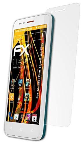 atFolix Panzerfolie kompatibel mit Alcatel One Touch Go Play Schutzfolie, entspiegelnde & stoßdämpfende FX Folie (3X)