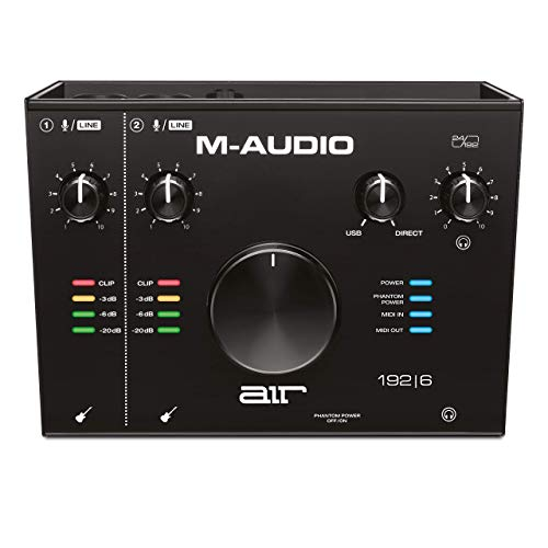 M-Audio AIR 192|6 - Interfaz de audio MIDI / tarjeta de sonido...