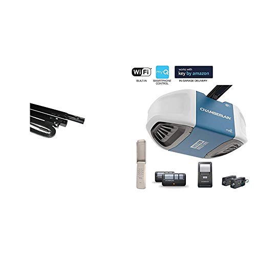 Chamberlain Group G8808CB-P Chamberlain 8808CB 8-Foot, Compatible Whisper Drive Plus Models, Include with B550 Smartphone-Controlled Ultra-Quiet & Strong Belt Drive Garage Door Opener