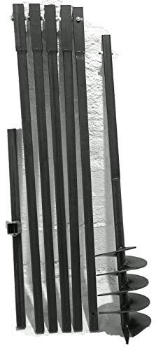 MWS-Apel 180/6 Meter Erdbohrer Brunnenbohrer Handerdbohrer Erdlochbohrer Brunnenbau Pfahlbohrer brunnenbohrgerät