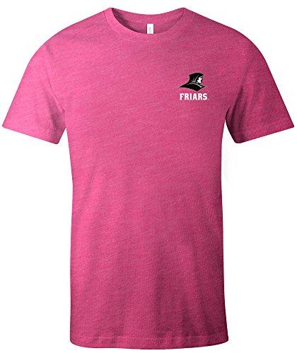 Image One Unisex NCAA Azteken quadratisch kurz Ärmel Triblend T-Shirt, Unisex, 15326-165, Beere, S