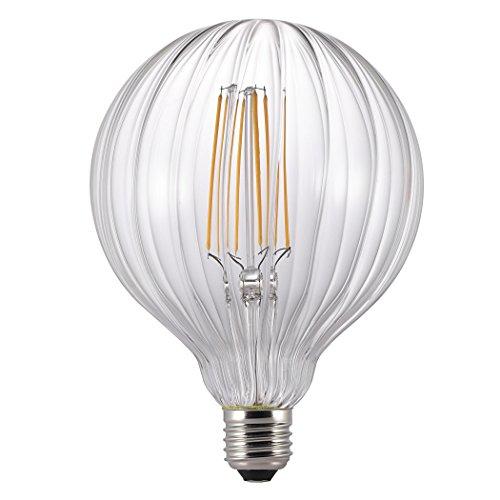 Nordlux Avra Stribes Filament Glühbirne, Glas, klar, E27, 2W