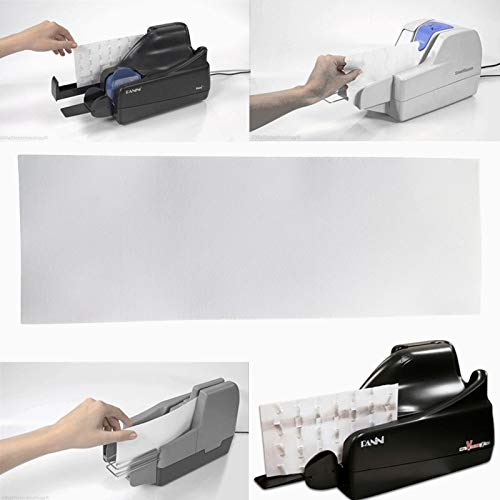 25 pcs/Pack Thermal Check Scanner Cleaning Card Size 4