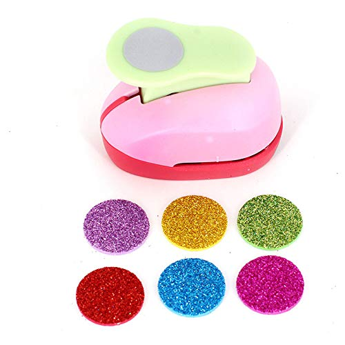 Craft Hole Punch Paper Puncher-Scrapbook Hole Punch Craft Puncher-Shape Punch for Decorating Paper Crafts, Card Making, Envelopes (Circle)