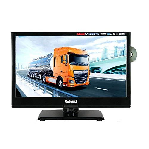 Gelhard GTV1682PVR LED-TV 15,6 Zoll Fernseher Full-HD, DVD, DVB-S/S2 -C -T -T2 12V/24V/230V mit PVR