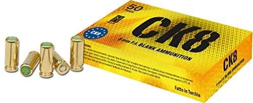 OZKURSAN CAL.8mm 50 PEZZI A SALVE - BLANCK 3462