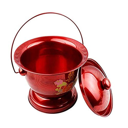 Lingling kamerpot - pannetje urinoir volwassenen urinoir pot met deksel volwassenen urinoir potje voor kamerpot kamerpot kamerpot met deksel oudere, kinderen (kleur: A)
