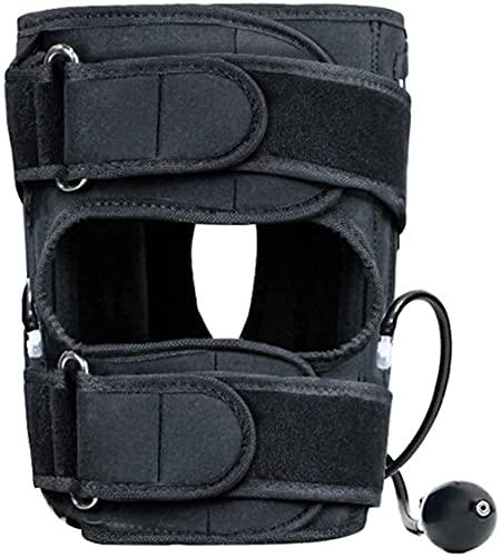 CORREA DE CORREACIÓN DE PIERNAS Ajustable O / X Pierna en forma de la pierna soporta la correa de corrección para adultos y niños tirantes de la rodilla Pierna en bucle de pierna Tracción de la pierna