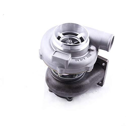 No-Branded GT30 GT3037 GT3076 Turbo Turbocompresor T3 brida de aceite de agua de actualización de cojinete diario para 3.0-5.0L 6 8 Cyl 0.6 0.82 A/r compresor LJJCUICAN