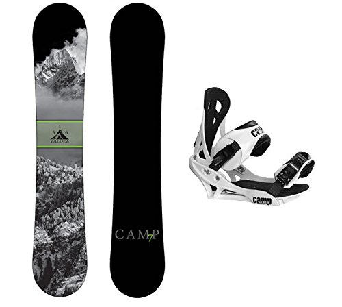 Camp Seven Package Valdez CRC 2016 Snowboard-156 cm Summit Bindings