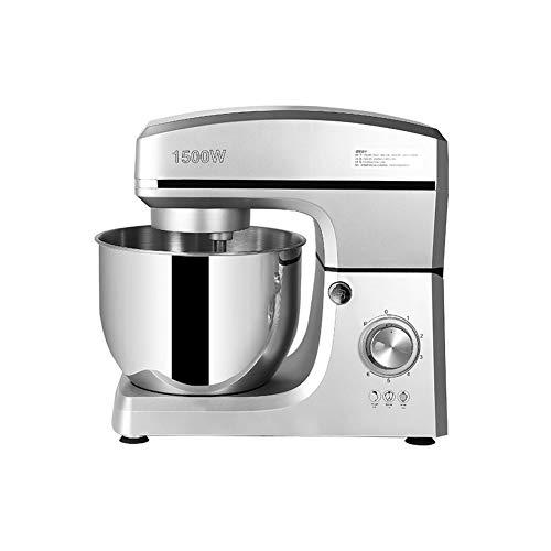 ASYCUI Handmixer for Gewerbe Edelstahl 1500W Multifunktions Knetmaschine Haushalts-elektrische Küchenmaschine 7L Eiercreme Salat Beater Kuchenmischer