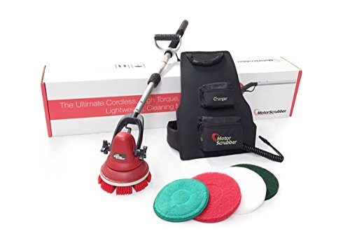"""Motor Scrubber With Telescoping Handle, 30"""" - 1 Each"""
