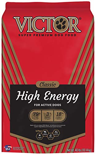 VICTOR Classic - High Energy, Dry Dog Food, 40 lb