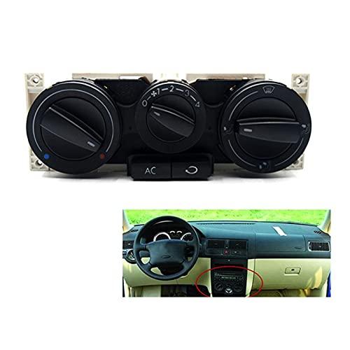 FangFang A / C Panel De Control/Ensamblaje De Control De Clima Adecuado para Jetta Golf Passat B5 Bora 1999-2005 1J0820045F Accesorios para Automóviles (Color : Black)