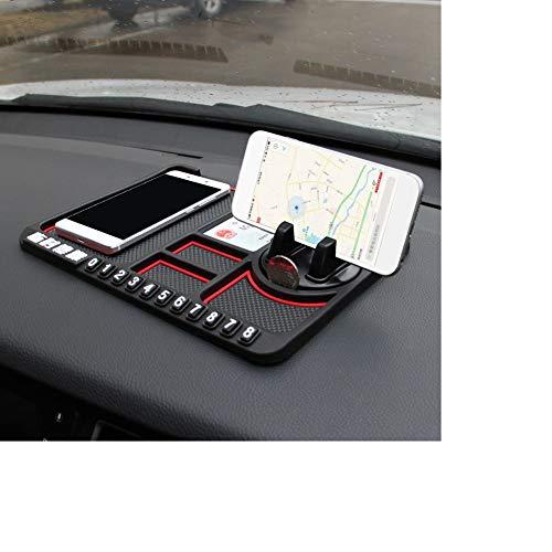 alpscale Auto Instrument Panel Opslagruimte Mat Mobiele Telefoon Beugel Antislip Mat Voor Smartphones