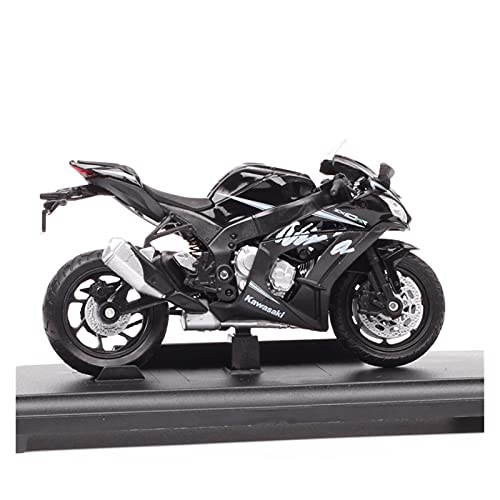 Boutique 1:18 For Kawasaki 2017 NINJA ZX10RR Racing Motorcycle Diecast & Toy Vehicles Model Sports Bike Gifts Collection Decoration Gifts