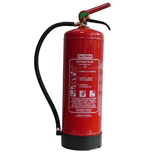 Gloria 412013pd9ga extintor de polvo ABC 9kg