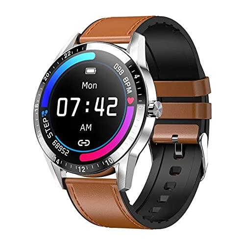 LSQ G20 Reloj Inteligente Hombres Mujeres 1.3 Pulgadas Pantalla Táctil Impermeable Pulsera Accesorio Actividad Deportes Seguimiento Presión Arterial GPS,D