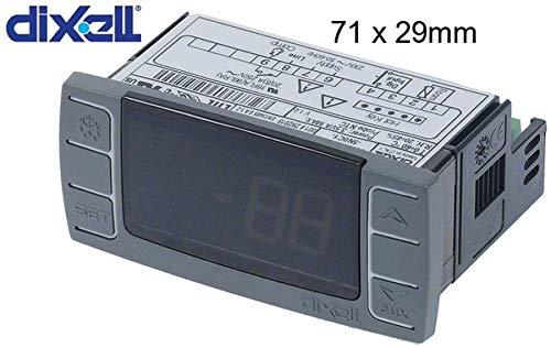 Elektronikregler XR02CX-5N0C1 von DIXELL 71x29 mm 230 V Relais: NO-20A(8) Eingang: für Horeca-Select, Metro-Professional, Amatis, Frenox, Izmak, MCC-Trading-International, Makro-Professional