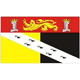 Norfolk County Flag 5ft x 3ft:Superclub