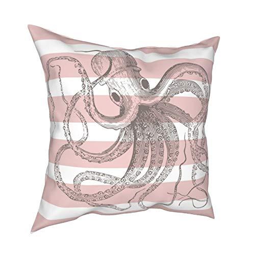 Hustor Funda de almohada decorativa para sofá, sofá, cama, decoración de vacaciones, 45,7 x 45,7 cm