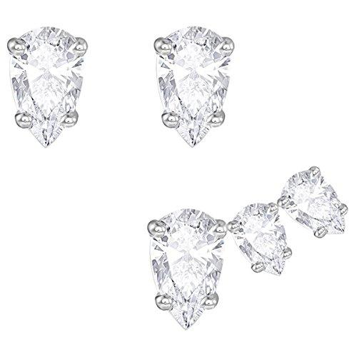 Pendientes Swarovski Attract Pear 5274076 Mujer Cristal